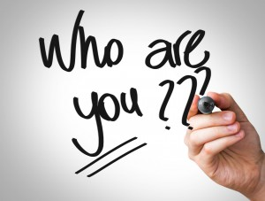 who are you? personal branding image