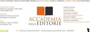 Locandina corso di editoria palermo